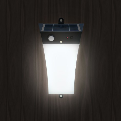 Solar Security Light with Buzzer