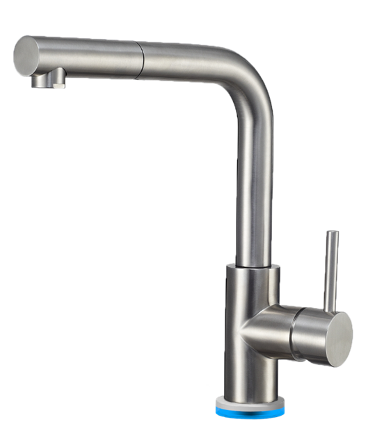 Luxter Pull Out Ozone Faucet with Ozone Machine, Stainless-Steel