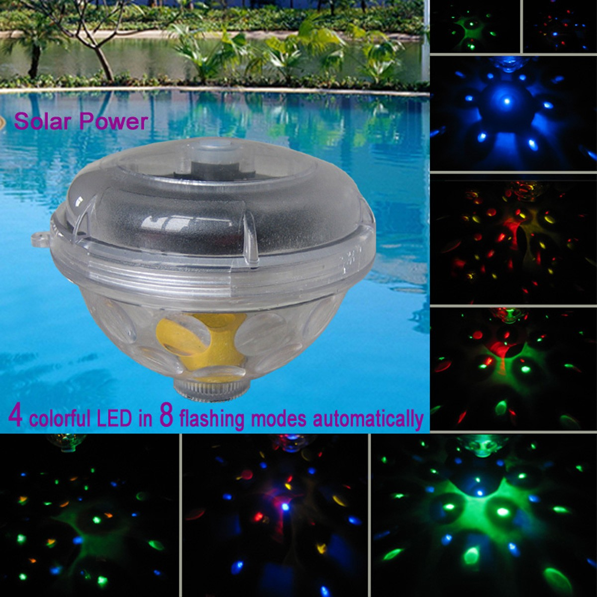 Swimming Pool Floating Lights Images