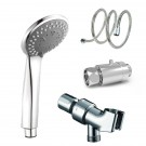 3 Function Anion Handheld Shower Head with Hose/Mounting Bracket