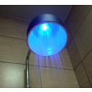 1 Function Temperature Sensitive Shower Head with Lamp Shade